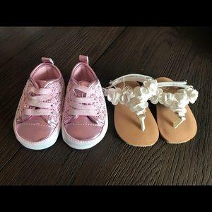 Other - Size 2 baby shoe bundle